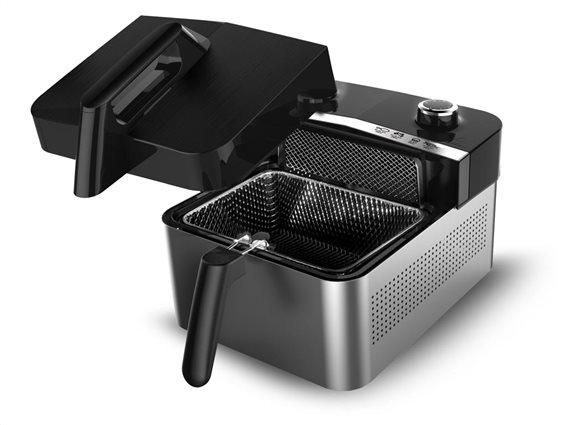 TurboTronic Φριτέζα Αέρος 1200Watt για μαγείρεμα με ελάχιστο λάδι, χωρητικότητας 3,2 Λίτρα, TT-AF1