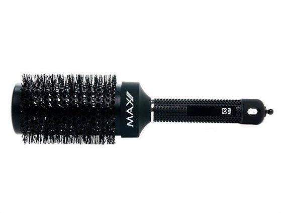 Max Pro Βούρτσα Χτενίσματος Μαλλιών 53mm X Mohi Ceramic Radial Brush