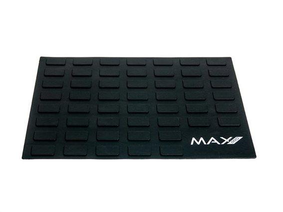 Max Pro Πατάκι Πάγκου Αντιολισθητικό κατά της θερμότητας για ψαλίδι και πρέσα μαλλιών MXPRO047 X Mohi Μαύρο