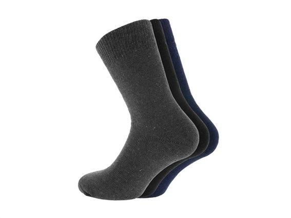 Σετ Ισοθερμικές Ανδρικές κάλτσες 3 τεμαχίων, Thermo socks 39-42