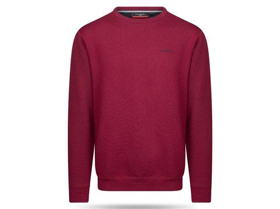 Pierre Cardin Ανδρική Μπλούζα Φούτερ με μακρύ μανίκι σε χρώμα Burgundy Medium