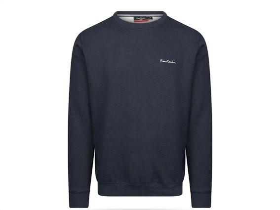 Pierre Cardin Ανδρική Μπλούζα Φούτερ με μακρύ μανίκι σε χρώμα Navy Large