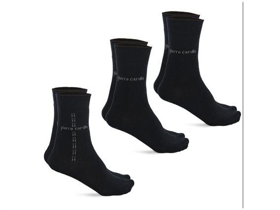 Pierre Cardin Σετ Ανδρικές κάλτσες 3 τεμαχίων σε navy απόχρωση, Design Navy 39-42