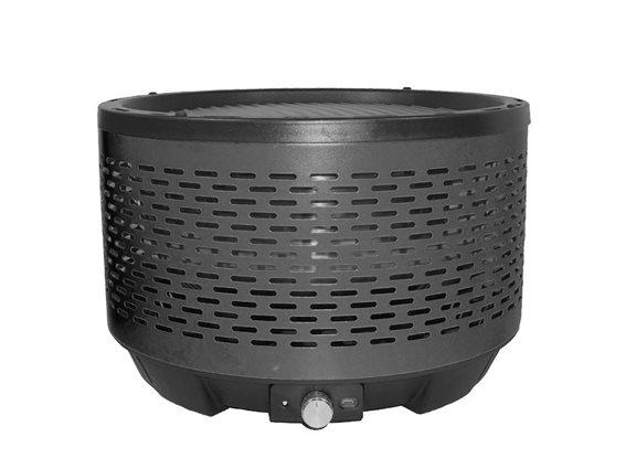 Aria Trade Φορητή Γκριλιέρα BBQ από Ανοξείδωτο Ατσάλι, σε μαύρο χρώμα, 32.4x22 cm, Cooltouch Grill