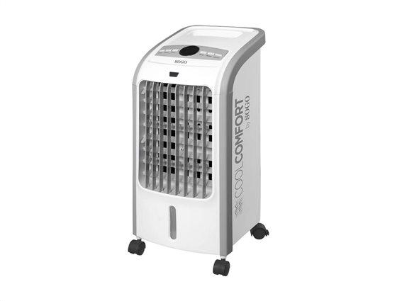 Φορητό Κλιματιστικό δαπέδου Air Condition Ψύξης 80W με Ροδάκια, 25x24x57.5cm, SOGO AIR-SS-21065