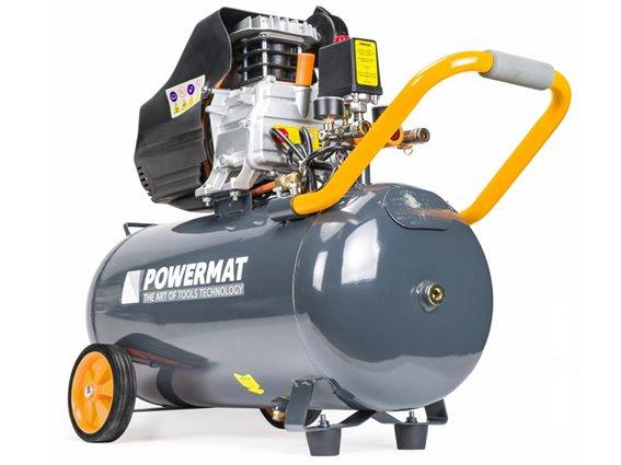 Αεροσυμπιεστής Λαδιού 230V χωρητικότητας 50L, PowerMat PM-KO-50T