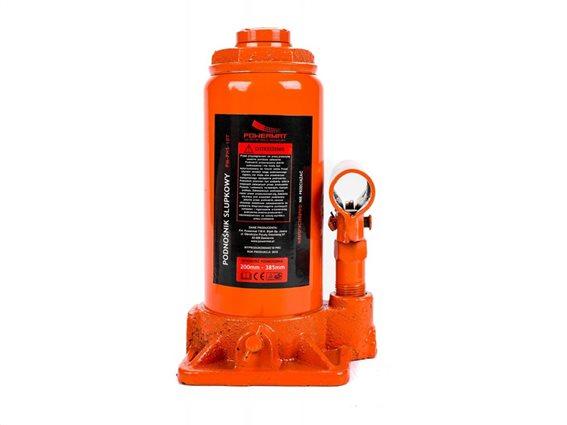 Υδραυλικός Γρύλος Ανύψωσης Μπουκάλας 10T, PowerMat PM-PHS-10T