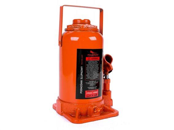 Υδραυλικός Γρύλος Ανύψωσης Μπουκάλας 20T, PowerMat PM-PHS-20T
