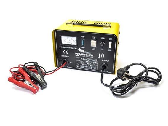 Φορτιστής Μπαταρίας Αυτοκινήτου, Μοτοσυκλέτας και Σκαφών 12/24V,  Powermat PM-CD-10G