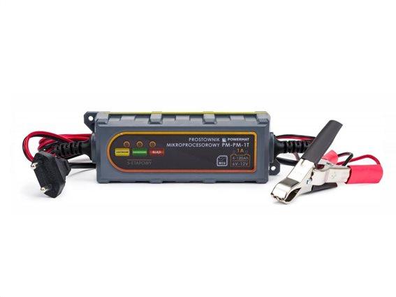 Φορτιστής Μπαταρίας Αυτοκινήτου 6/12V, PowerMat PM-PM-1T