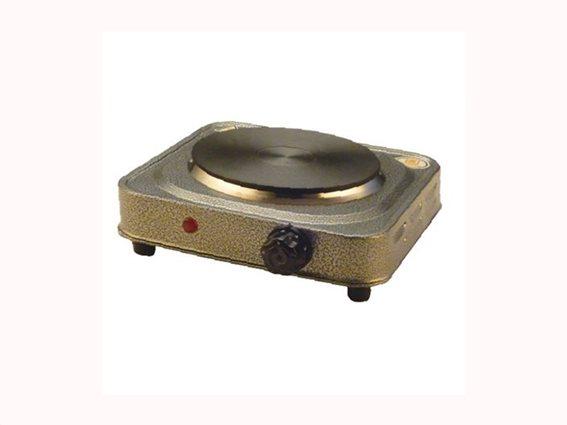 Muhler Ηλεκτρική Εστία μαγειρέματος Εμαγιέ, ισχύος 500Watt, διαμέτρου 10cm σε καφέ Χρώμα, MHP-050M