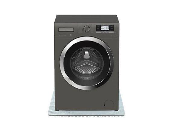 Αντικραδασμικός Τάπητας Πλυντηρίου σε γκρι χρώμα, 60x85x2 cm
