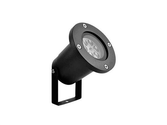 Aria Trade Νυχτερινός Διακοσμητικός LED φωτισμός 5W με σχέδια χιονονιφάδες, 10x10x31 cm
