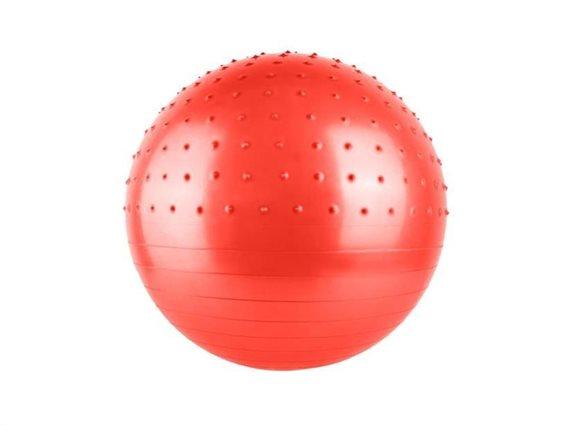 Μπάλα Γυμναστικής με διάμετρο 75 cm Κόκκινο