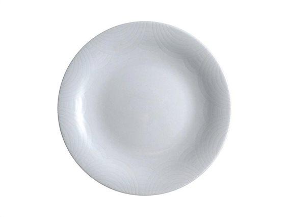 Pierre Cardin Πιάτο Φρούτου, Γλυκού από Πορσελάνη διαμέτρου 18.5 cm σε λευκό χρώμα, L' Amour