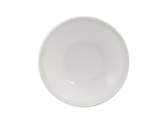 Pierre Cardin Πιάτο Φρούτου, Γλυκού από Πορσελάνη διαμέτρου 20 cm σε λευκό χρώμα