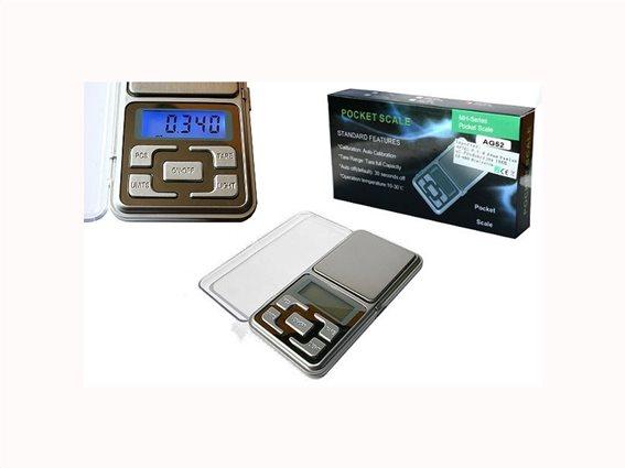 Aria Trade Επαγγελματική Ψηφιακή Ζυγαριά Ακριβείας 0.5kg/0.1gr