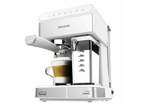 Cecotec Ηλεκτρική Καφετιέρα για όλους τους τύπους καφέ 1350W σε Λευκό χρώμα, Power Instant-ccino 20
