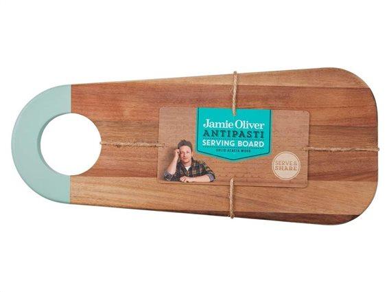 Jamie Oliver Ξύλινος Δίσκος Σερβιρίσματος Antipasti Serving Board, 45x19.5x1.4 cm, 553829