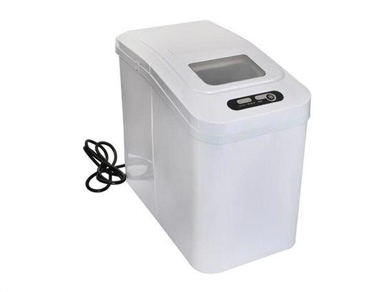 Παγομηχανή Συσκευή Παρασκευής για Παγάκια 120W, 1.1 λίτρα σε λευκό χρώμα, 20x34x33 cm, K5538