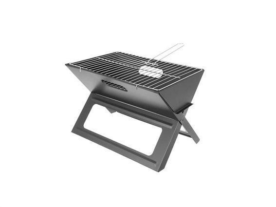 Φορητή Επιτραπέζια Γκριλιέρα Ψησταριά Μπάρμπεκιου BBQ Grill με αξεσουάρ, 46x30x30 cm, Picnic grill