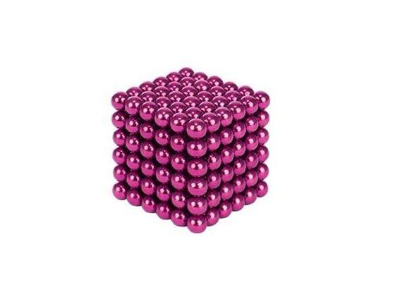 Aria Trade Μαγνητικές Μπίλιες Ροζ 5mm 216τμχ