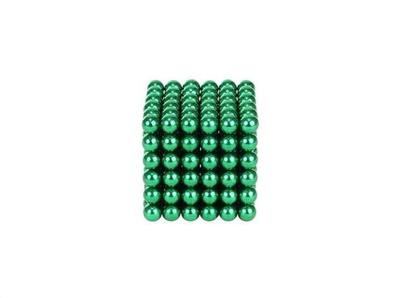 Aria Trade Μαγνητικές Μπίλιες Πράσινες 5mm 216τμχ