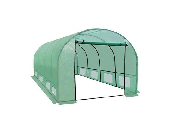 Aria Trade Διάφανο Αδιάβροχο Θερμοκήπιο Τούνελ με είσοδο 4x3x2m Garden house
