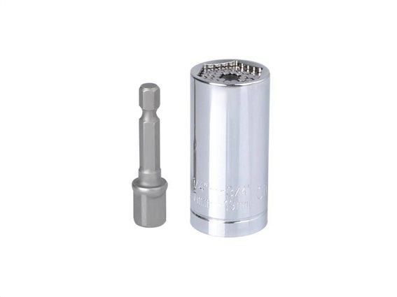 Πολυκαρυδάκι Πολύκλειδο 7-19 mm, Universal socket wrench