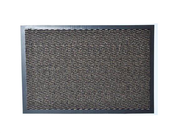 Aria Trade Πατάκι Χαλάκι εισόδου σε καφέ χρώμα με βάση από καουτσούκ 40x60 cm, Lisa