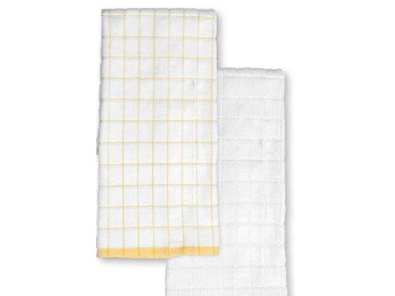 Aria Trade Σετ Πετσέτες Μπάνιου Χεριών 2 τεμαχίων με σχέδιο σε 2 χρώματα, 40x60 cm, Tess
