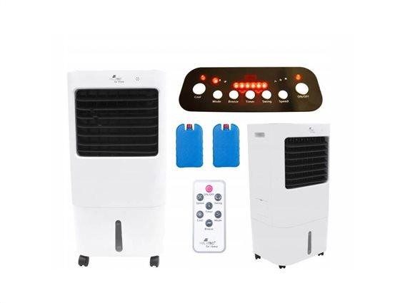 Malatec Aircooler Φορητό κλιματιστικό Ψύξης 3 επιπέδων κατάλληλο για χώρους εως 35 τμ, 35x60cm