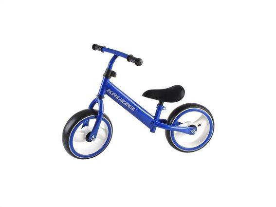 Παιδικό Ποδήλατο Ισορροπίας σε Μπλε χρώμα με LED Φωτισμό, 77x39x57 cm, Kruzzel