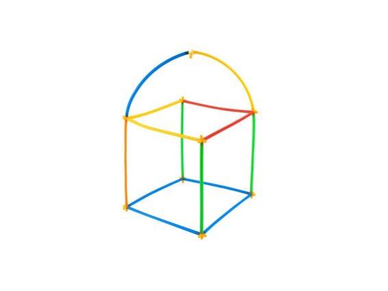 Σετ Εκπαιδευτικά Καλαμάκια με συνδέσμους 408 τεμαχίων σε διάφορα χρώματα, Educational straws