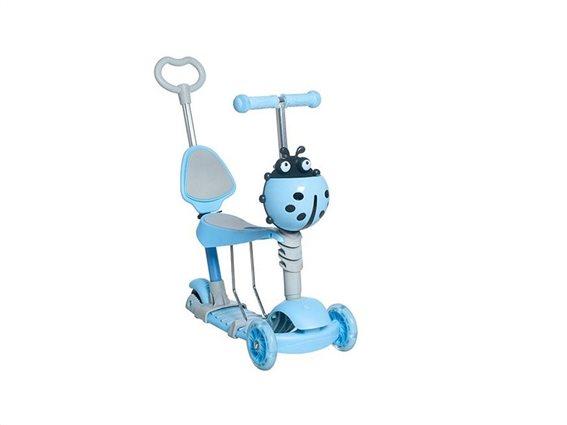 Kruzzel Πατίνι Scooter Τρίτροχο 3-σε-1 Μπλε