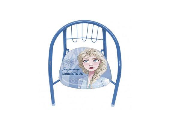 Aria Trade Παιδική Καρέκλα Μεταλλική Frozen 2 35x30x33.5cm