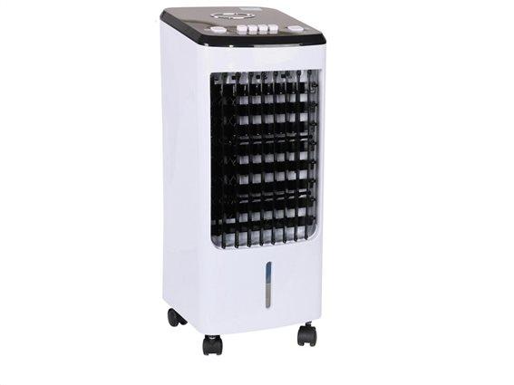 Air Cooler Φορητό Κλιματιστικό Ψύξης 3 επιπέδων με χωρητικότητα 4 λίτρα 80W, 23x26.5x57 cm