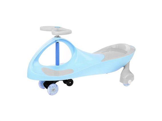 Aria Trade Swing Car Παιδικό οικολογικό αυτοκινητάκι για παιδιά άνω του 1 έτους σε μπλε χρώμα