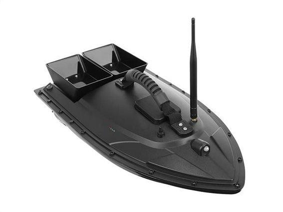 Τηλεκατευθυνόμενο Σκαφάκι Ιδανικό για Ψάρεμα με εμβέλεια 300m σε μαύρο χρώμα, 55x26.5x16 cm