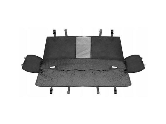 Aria Trade Προστατευτικό Κάλυμμα Καθίσματος Αυτοκινήτου για Κατοικίδια σε μαύρο χρώμα, 128x138 cm