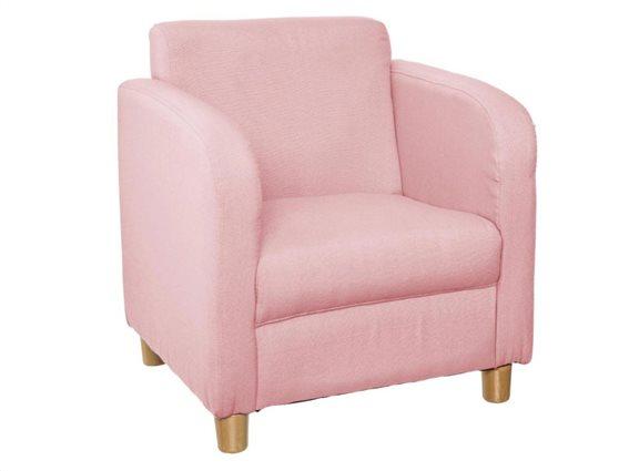 Chic Παιδική Πολυθρόνα Ροζ 41x34x43cm