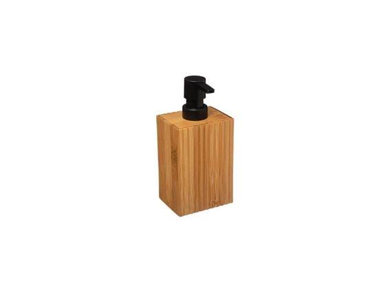 Aria Trade Επιτραπέζιο Dispenser Πλαστικό Bamboo 07.174533 Καφέ