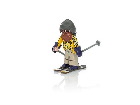 Playmobil Family Fun, Σκιέρ Snowblades, 9284