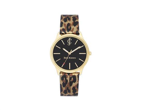 Juicy Couture Γυναικείο Ρολόι Αναλογικό, 36mm με μπρασελέ-κούμπωμα ασφαλείας, JC/1014GPLE