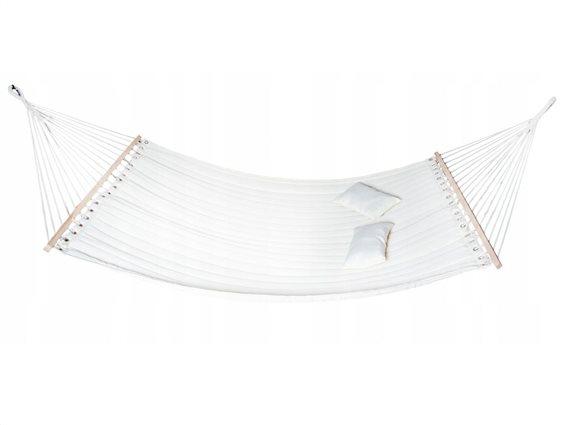 Aria Trade Αιώρα Διπλή Λευκή 00010202 Chicago 340x150cm