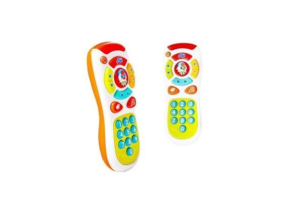 Βρεφικό παιχνίδι κινητό τηλέφωνο με ήχους και τραγούδια, 17x6.5cm