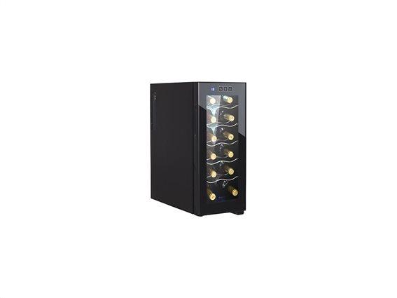 Adler Συντηρητής Ψυγείο κρασιών 33L για 12 φιάλες, 25.5x51.0x61.0 cm, AD 8075