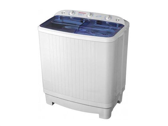 Brock  Πλυντήριο Ρούχων χωρητικότητας 7.5kg, 480W, 76x45.5x84cm