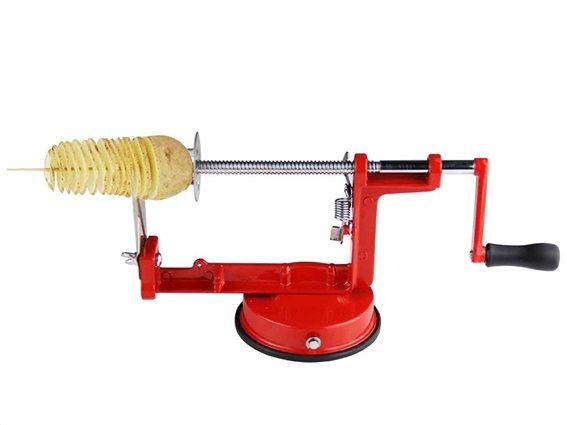 Κόφτης Πατάτας από ανοξείδωτο ατσάλι, 26x14 cm, Spiral Potato Slicer