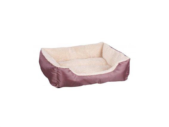 Κρεβάτι σκύλου και άλλων κατοικιδίων σε δύο χρώματα, 56x45x15 cm, Pet bed Σομόν